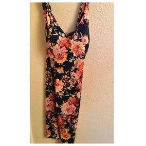 Debshops Floral Midi Dress